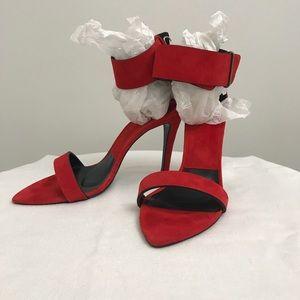 Zara Women- Ankle Strap Heel